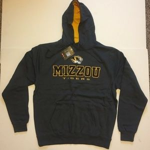 Missouri Tigers Hooded Pullover Hoodie Sweatshirt